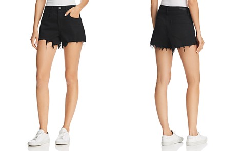 BLANKNYC Raw-Edge Denim Shorts in Night Mania - Bloomingdale's_2