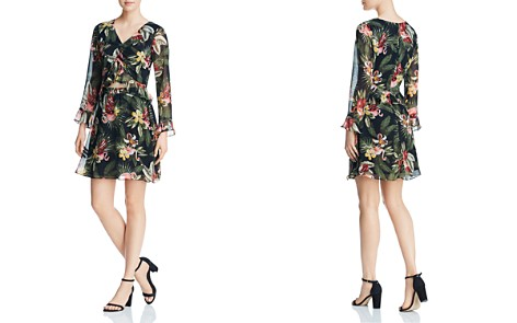 Sam Edelman Floral Cutout Dress - Bloomingdale's_2
