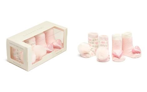 Elegant Baby Girls' Pom-Pom & Heart Rattle Socks, Set of 2 - Baby - Bloomingdale's_2