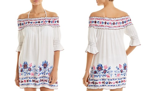 BECCA® by Rebecca Virtue Marrakesh Tunic Swim Cover-Up - Bloomingdale's_2