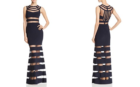 AQUA Illusion Mermaid Gown - 100% Exclusive - Bloomingdale's_2
