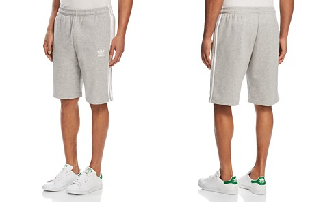 adidas Originals Three-Stripe Sweat Shorts - Bloomingdale's_2