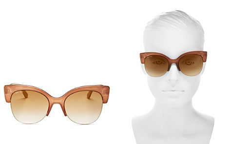 Jimmy Choo Priya Cat Eye Sunglasses, 59mm - Bloomingdale's_2