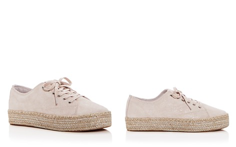 Tretorn Women's Eve Glitter Suede Lace Up Platform Espadrille Sneakers - Bloomingdale's_2