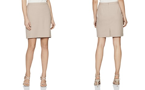 REISS Maddox Tailored Skirt - Bloomingdale's_2