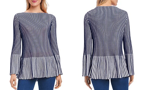 Foxcroft Ribbed Peplum Sweater - Bloomingdale's_2
