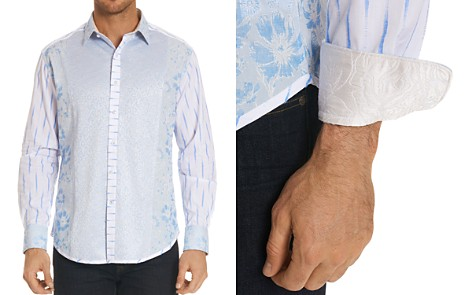Robert Graham Limited Edition Floral Stripe Classic Fit Button-Down Shirt - Bloomingdale's_2