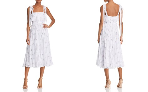 Fame and Partners The Penny Tie-Shoulder Midi Dress - Bloomingdale's_2