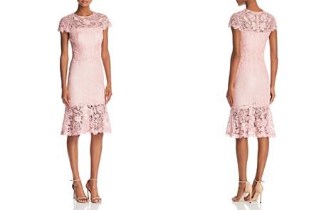 Tadashi Shoji Lace Flounce-Hem Dress - Bloomingdale's_2