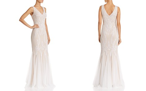 Avery G Soutache Godet Gown - Bloomingdale's_2