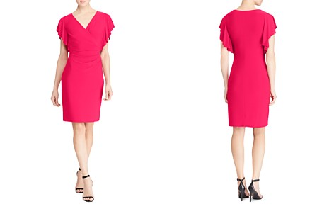 Lauren Ralph Lauren Faux Wrap Dress - Bloomingdale's_2
