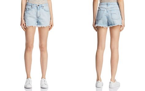 Nobody Skyline Denim Shorts in Flirting - Bloomingdale's_2