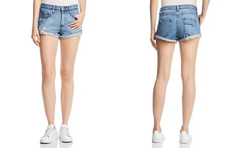 Nobody Boho Denim Shorts in Sassy - Bloomingdale's_2