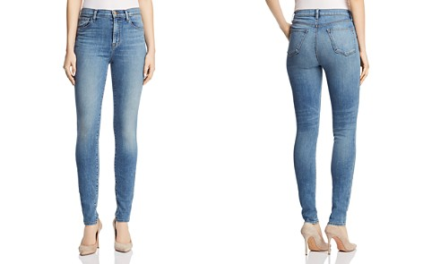 J Brand Carolina Super High Rise Skinny Jeans in Delphi - Bloomingdale's_2