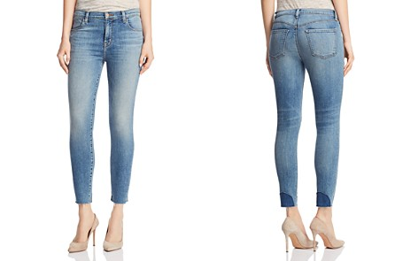 J Brand Alana High-Rise Crop Skinny Jeans in Delphi - Bloomingdale's_2