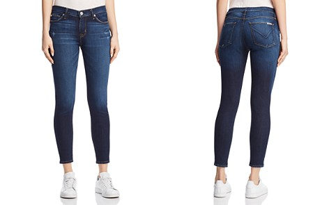 Hudson Nico Mid Rise Ankle Super Skinny Jeans in Corrupt - Bloomingdale's_2