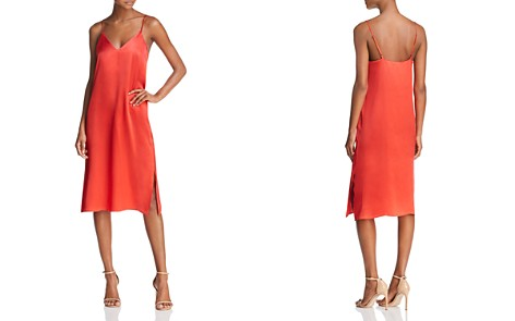 Anine Bing Gemma Silk Slip Dress - Bloomingdale's_2