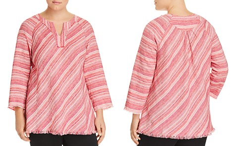 NIC and ZOE Plus Sahara Sunset Linen Top - Bloomingdale's_2
