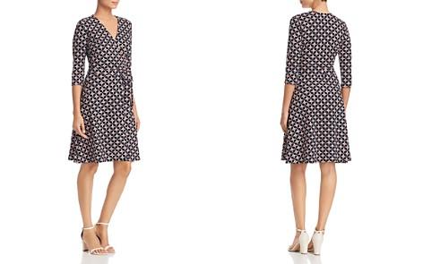 Leota Perfect Wrap Three-Quarter Sleeve Dress - Bloomingdale's_2