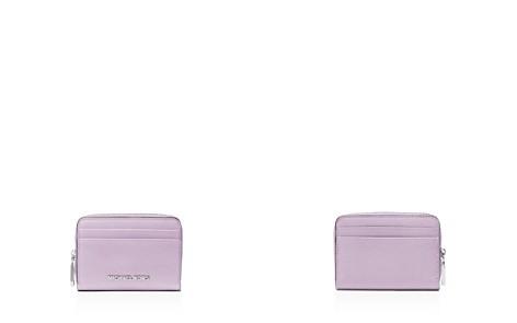 MICHAEL Michael Kors Zip Around Leather Card Case - Bloomingdale's_2