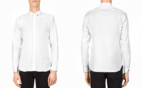 The Kooples Paper Popeline Slim Fit Button-Down Shirt - Bloomingdale's_2