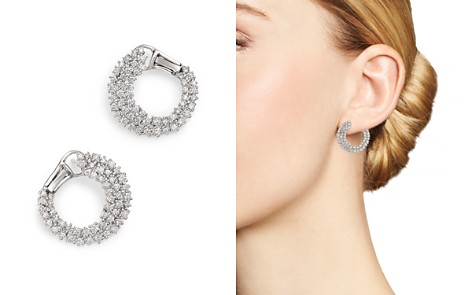 Bloomingdale's Diamond Statement Earring in 14K White Gold, 1.60 ct. t.w. - 100% Exclusive _2