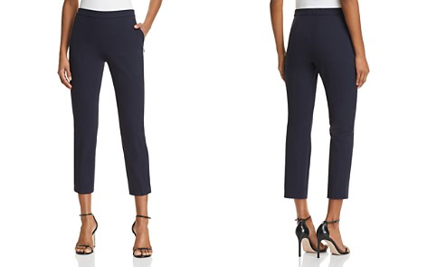 Theory Basic Cropped Pants - Bloomingdale's_2