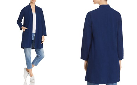 Eileen Fisher Petites Lightweight Denim Open-Front Jacket - 100% Exclusive - Bloomingdale's_2
