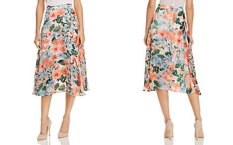 Alice + Olivia Nanette Floral Burnout Midi Skirt - Bloomingdale's_2