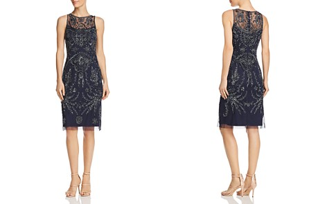Adrianna Papell Embellished Sheath Dress - Bloomingdale's_2