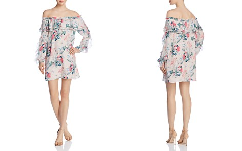 Parker Isa Off-the-Shoulder Floral-Print Dress - Bloomingdale's_2