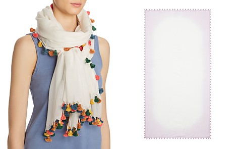 Citrus Oblong Multicolor Trim Scarf - 100% Exclusive - Bloomingdale's_2