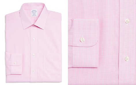 Brooks Brothers Micro Gingham Classic Fit Dress Shirt - Bloomingdale's_2
