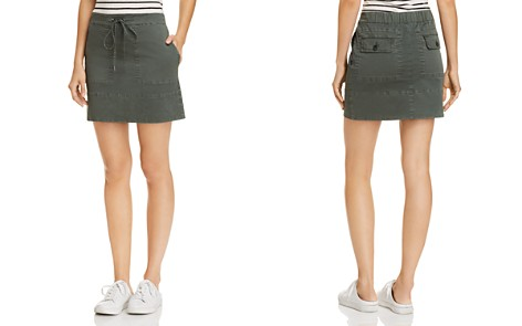 Theory Cargo Mini Skirt - Bloomingdale's_2