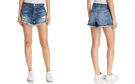 7 For All Mankind Boyfriend Denim Shorts in Canyon Ranch - Bloomingdale's_2