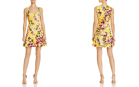 FRENCH CONNECTION Linosa Floral-Print A-Line Mini Dress - Bloomingdale's_2