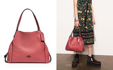 COACH Edie Shoulder Bag 31 in Polished Pebble Leather - Bloomingdale's_2