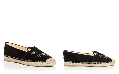 Charlotte Olympia Women's Kitty Embroidered Terry Cloth Espadrille Flats - Bloomingdale's_2