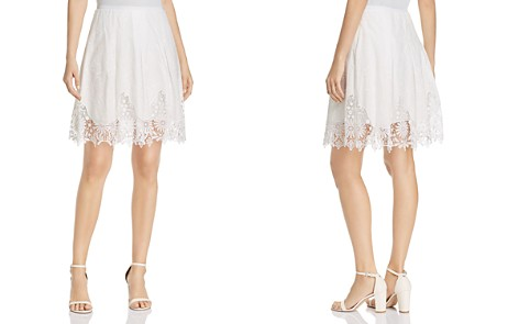 T Tahari Salina Embroidered Lace Skirt - Bloomingdale's_2