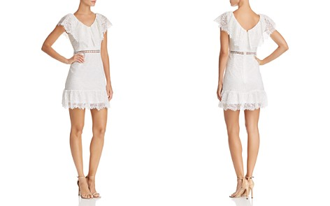 AQUA Lace Ruffle Dress - 100% Exclusive - Bloomingdale's_2