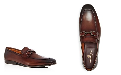 Bruno Magli Men's Morolo Leather Apron Toe Loafers - Bloomingdale's_2