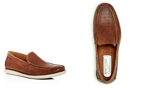 Kenneth Cole Men's Cyrus Perforated Leather Loafers - Bloomingdale's_2