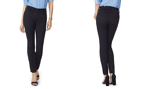 NYDJ Petites Alina Legging Jeans in Black - Bloomingdale's_2