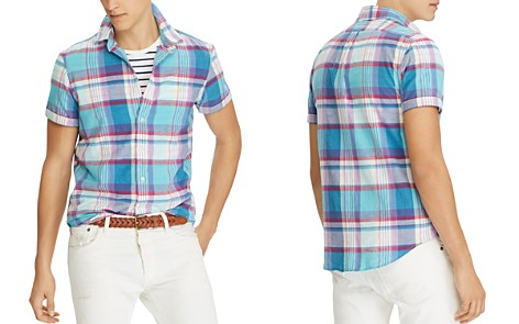 Polo Ralph Lauren Madras Classic Fit Button-Down Shirt - Bloomingdale's_2