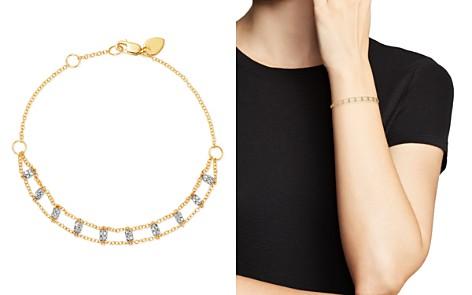 Meira T 14K White & Yellow Gold Diamond Bars Bracelet - Bloomingdale's_2