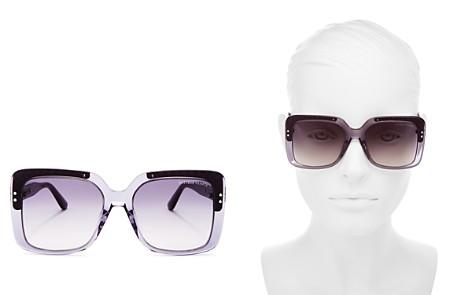 Bottega Veneta Square Sunglasses, 54mm - Bloomingdale's_2