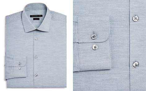 John Varvatos Star USA Solid Jersey Slim Fit Dress Shirt - Bloomingdale's_2