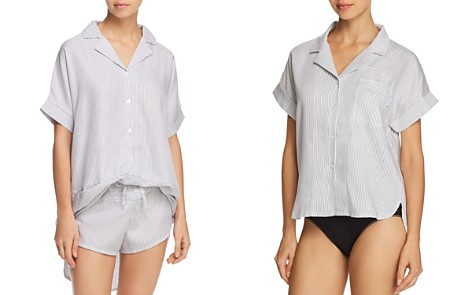 Calvin Klein Striped Sleep Tunic - Bloomingdale's_2