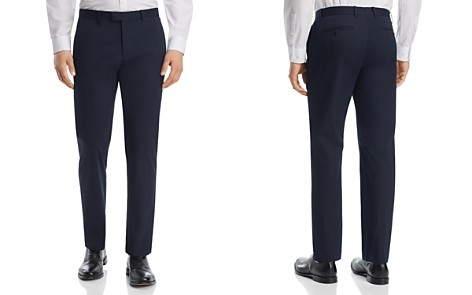 Theory Marlo Cotton Slim Fit Suit Pants - 100% Exclusive - Bloomingdale's_2