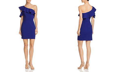 AQUA One-Shoulder Ruffled Dress - 100% Exclusive - Bloomingdale's_2